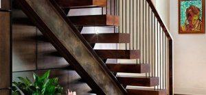 حفاظ راه پله ساده بهتر است یا فرفورژه؟ 53468545612312