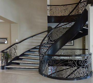 زیباترین پله دوبلکس 87465456655122121
